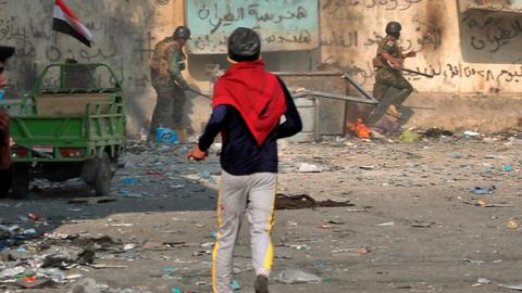 Night of violence in Iraq's south leaves at least 3 protesters dead