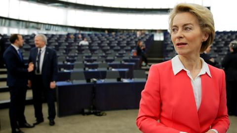 Von der Leyen wins EU parliament vote after climate crisis vows