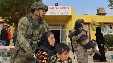 Turkey restores hospital in Syria's Tal Abyad town