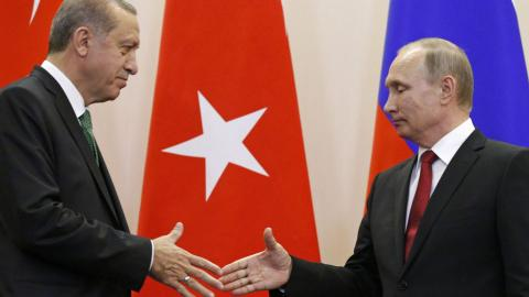 Erdogan & Putin agree safe zones would help protect civilians in Syria