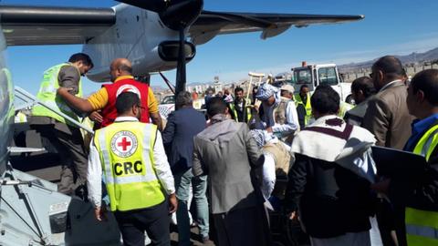 Red Cross repatriates 128 Yemen rebels from Saudi Arabia