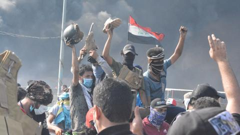 Iraqi forces kill over 40 protesters in bloody crackdown