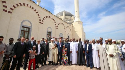 Djibouti's biggest mosque built by Turkey opens to public