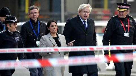Boris Johnson criticised for 'exploitation' of terror victim