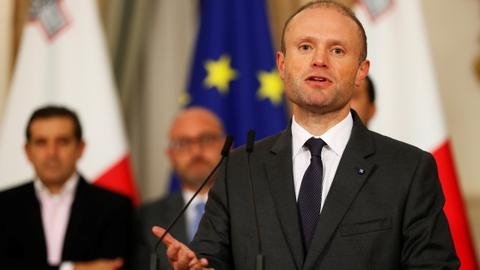 Press groups wants the EU to hold beleaguered Malta PM to account