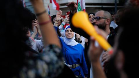 Lebanon's revolution is a reawakening for Tripoli women