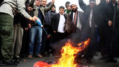 Iran unrest killed 'at least 208' - Amnesty International