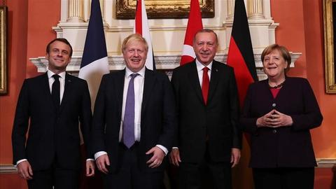 UK, France, Germany, Turkey leaders have
