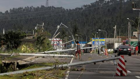 Typhoon Kammuri rips through Philippines, killing at least 10 people