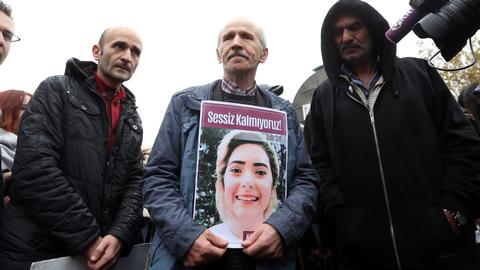 Two men get decades in prison for killing student in Turkey