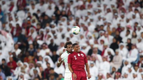 Qatar's rivals reach Gulf Cup final despite absent fans