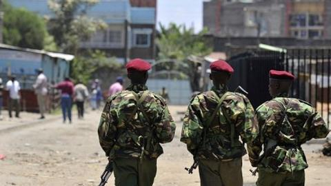 Kenya police officers among eight killed in bus attack