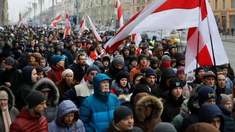 Belarus eyes closer integration with Russia, fuelling protest