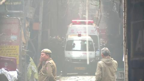 Devastating fire kills at least 43 in India's capital
