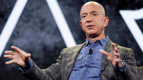 Amazon CEO Jeff Bezos says he wants to work more with Pentagon