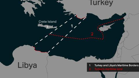 Why did Turkey sign a maritime deal with Libya?