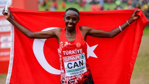 Turkey's Can claims fourth European Cross Country Championship title