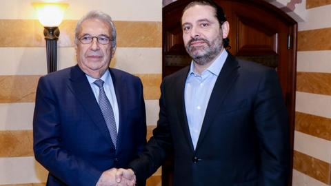 Lebanon's Hariri reemerges as PM candidate as Khatib withdraws