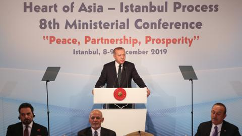 Turkey calls for more international investment in Afghanistan