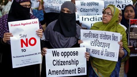 India's push for religion-based citizenship bill causes protests to erupt