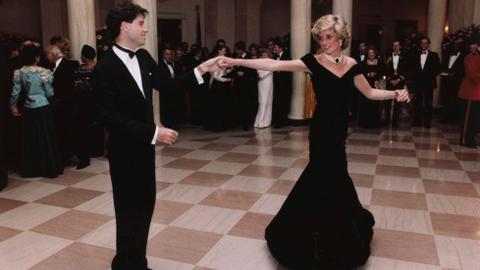 Princess Diana's 'Travolta' dress brushed off at auction