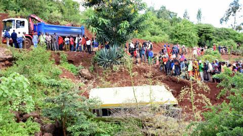 School bus crash kills 35 in northern Tanzania