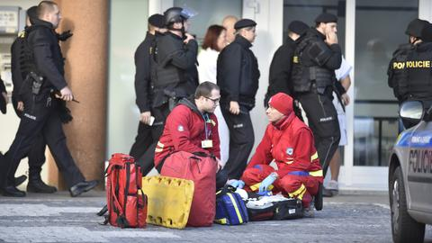 Shooting at Czech hospital kills at least six