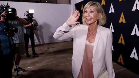 'Grease' jacket regifted to Olivia Newton-John after auction