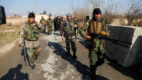 Taliban kill 10 Afghan soldiers in attack on base