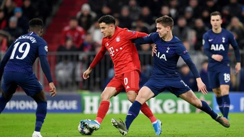Football: Six out of six for Bayern as they outclass Tottenham