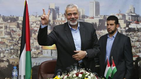 14 things to know about Hamas' new leader, Ismail Haniya