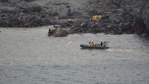 New Zealand recovers six more bodies from volcanic island