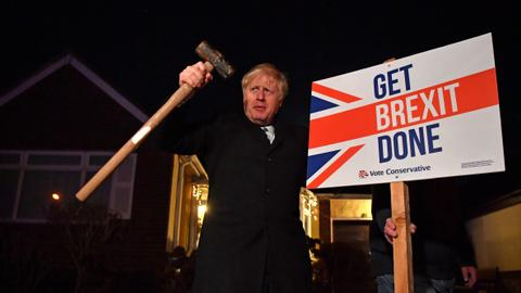 Boris Johnson's victory another vote for Brexit
