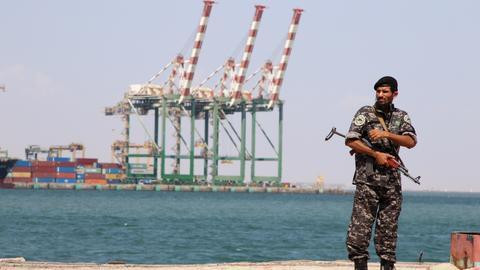 What is China doing in Yemen?