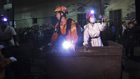 Gas leak in coal mine kills 18 in central China