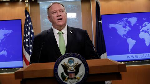 Pompeo warns Iran of 'decisive response' if harm in Iraq