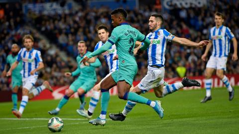 Barcelona draws with Real Sociedad after Ter Stegen error
