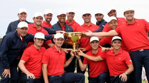 US seal Presidents Cup win at Royal Melbourne