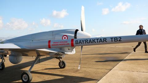 Turkey deploys surveillance drone in northern Cyprus