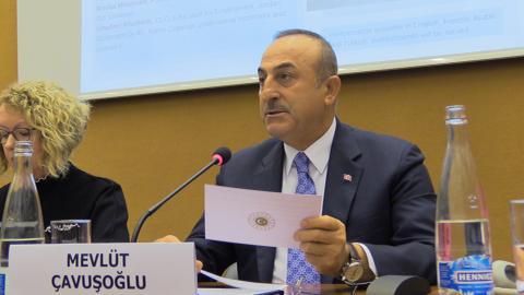 Turkey urges 'more equal burden sharing' on refugees