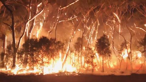 Australian firefighters warn of uncontrollable blazes as conditions worsen
