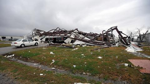 At least three people killed as storms batter southern US