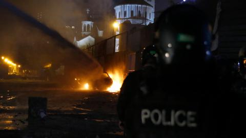 Third night of clashes as Lebanon postpones talks on new prime minister