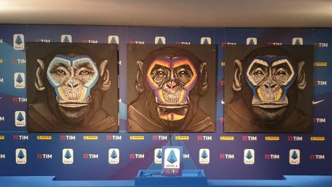 Serie A 'sorry' for monkeys in anti-racism campaign