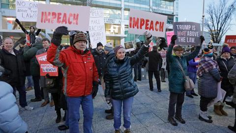 Impeachment vote set for Wednesday as Trump decries 'vicious crusade'