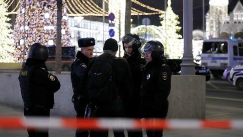 Gunman kills at least one in Russian security service HQ attack