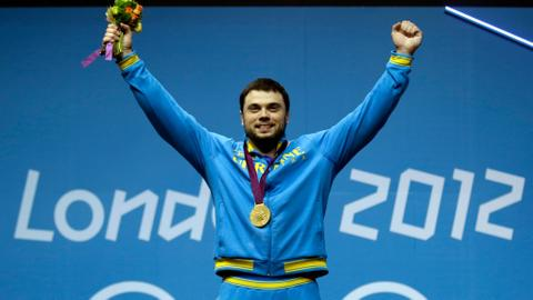 Ukrainian weightlifter stripped of 2012 Olympic gold for doping