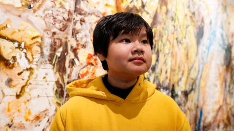 Art exhibit by 12-year-old Vietnamese kid opens in New York