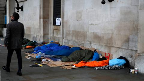What's behind the rise of homelessness in the UK?