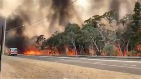 Australia faces catastrophic fire conditions; body found in S Australia